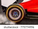 Formula Rear Wheel Spinning An...