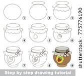 kid game to develop drawing... | Shutterstock .eps vector #775776190