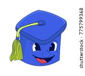 cap graduate . a cartoon vector ... | Shutterstock .eps vector #775799368