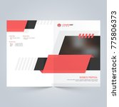 modern clean cover for business ... | Shutterstock .eps vector #775806373