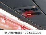 warning of smoking ban or no... | Shutterstock . vector #775811308