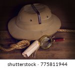 a still life with an old... | Shutterstock . vector #775811944