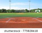 ballpark and stadium imagery | Shutterstock . vector #775828618