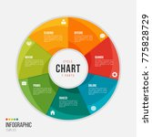 cycle chart infographic... | Shutterstock .eps vector #775828729