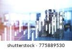 bitcoin  dollar  euro  pound... | Shutterstock . vector #775889530
