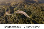 aerial view of road in the... | Shutterstock . vector #775904590