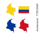 vector illustration of colombia ... | Shutterstock .eps vector #775915069