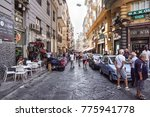naples  italy   august 22 ... | Shutterstock . vector #775941778