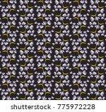 garlands of bell flowers... | Shutterstock .eps vector #775972228