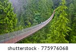 areial view of capilano... | Shutterstock . vector #775976068