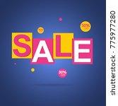 special offer sale tag original ... | Shutterstock .eps vector #775977280