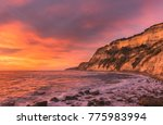 seascape and sunset amazing... | Shutterstock . vector #775983994