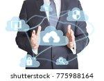 professional businessman... | Shutterstock . vector #775988164