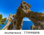 italy. capri island. the... | Shutterstock . vector #775998898