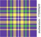seamless tartan plaid pattern.... | Shutterstock .eps vector #775999699
