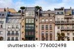 paris  france  on october 30 ... | Shutterstock . vector #776002498