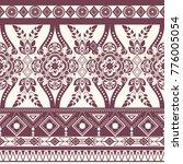 monochrome floral seamless...   Shutterstock .eps vector #776005054