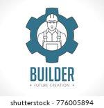 home builders logo   house... | Shutterstock .eps vector #776005894
