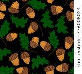 acorn vector illustration   Shutterstock .eps vector #776008024