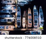 superyacht views from above   Shutterstock . vector #776008510