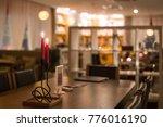 empty cafe interior | Shutterstock . vector #776016190
