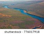Siberian Taiga And The River...