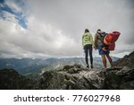 together roll mountains | Shutterstock . vector #776027968