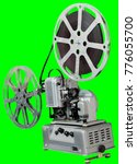 a movie projector is an opto...   Shutterstock . vector #776055700