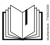 book bookmark icon. simple... | Shutterstock .eps vector #776063200