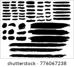 collection of hand drawn grunge ... | Shutterstock .eps vector #776067238