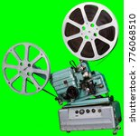a movie projector is an opto... | Shutterstock . vector #776068510