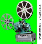 a movie projector is an opto... | Shutterstock . vector #776068516