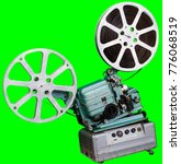 a movie projector is an opto...   Shutterstock . vector #776068519