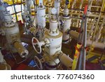 x mass tree  control valve for...   Shutterstock . vector #776074360