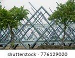 steel bridge in thailand   Shutterstock . vector #776129020