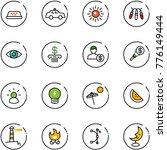 line vector icon set   taxi... | Shutterstock .eps vector #776149444