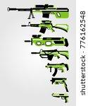vintage green futuristic... | Shutterstock .eps vector #776162548