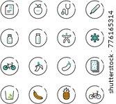 line vector icon set   patient... | Shutterstock .eps vector #776165314