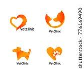 vet clinic logos | Shutterstock .eps vector #776169490
