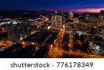 bellevue washington aerial view ... | Shutterstock . vector #776178349
