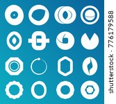 number 0 logo set   Shutterstock .eps vector #776179588