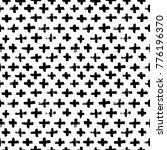 vector seamless cross pattern.... | Shutterstock .eps vector #776196370