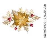 christmas decorations with...   Shutterstock .eps vector #776201968