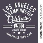 california athletic academy... | Shutterstock .eps vector #776210044