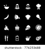 cooking icons set | Shutterstock .eps vector #776253688