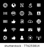 network icons set | Shutterstock .eps vector #776253814
