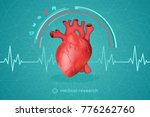 medical research of human... | Shutterstock . vector #776262760