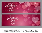 valentine's day love and... | Shutterstock .eps vector #776265916
