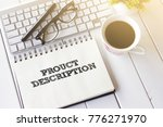 business concept   top view... | Shutterstock . vector #776271970