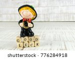 little chimney sweeper with a... | Shutterstock . vector #776284918